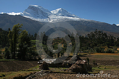 Huascaran, highest peak in Peru
