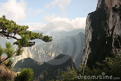 Huashan Mountain in China