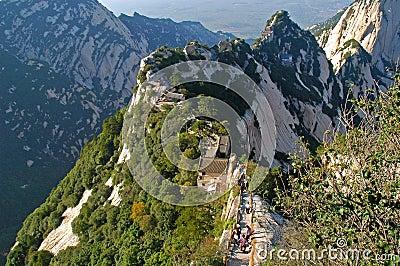 Huashan Mountain-Shangtianti 2
