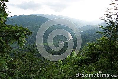 Huatulco гористых местностей