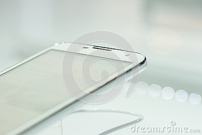 HUAWEI ASCEND G730, MOBILE WORLD CONGRESS 2014 Editorial Stock Image