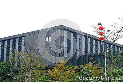 Huawei company Editorial Stock Photo