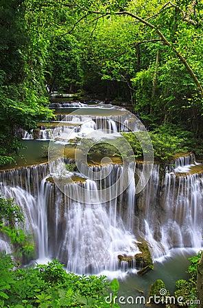 Huay mae ka min waterfall