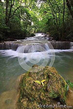 Huay mae ka min waterfall Editorial Image