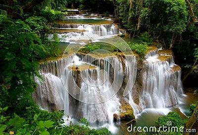 Huay Mae Khamin Waterfall,