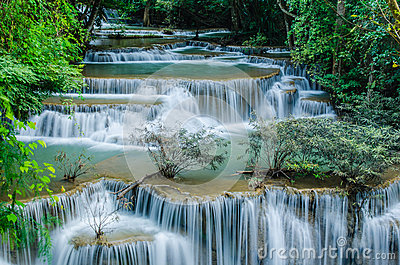 Huay Mae Khamin - Waterfall.