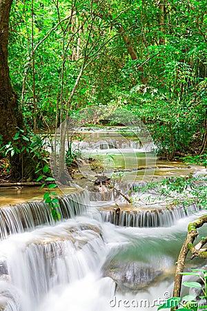 Huaymaekamin Waterfall