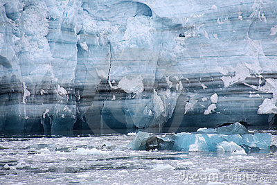 Hubbard Glacier Ice - untold years of history