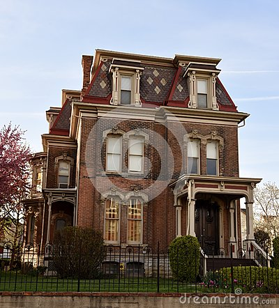 Free Hudson-Evans Mansion Royalty Free Stock Photography - 91256267