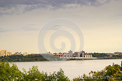 The Hudson River, New York and New Jersey