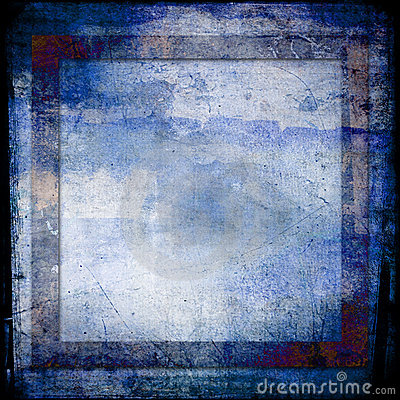 Hues of blues grunge background