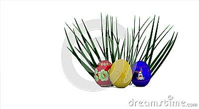 Huevos en el arbusto