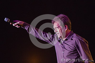 Huey Lewis and The News Live in Bend, Oregon Editorial Photo