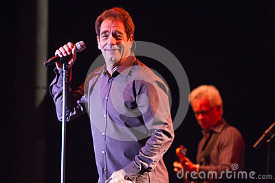 Huey Lewis and The News Live in Bend, Oregon Editorial Photography