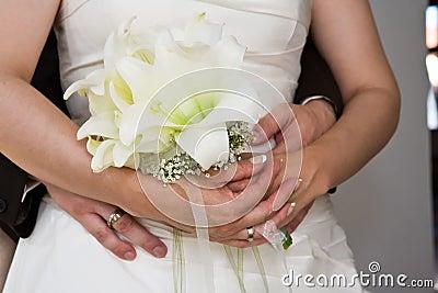 Hug the bride