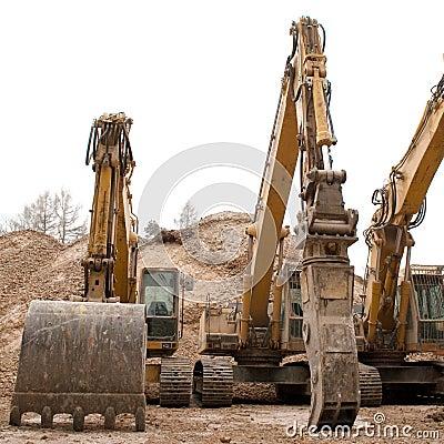 Huge Bulldozers