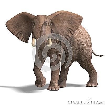 Free Huge Elephant Royalty Free Stock Images - 9884999