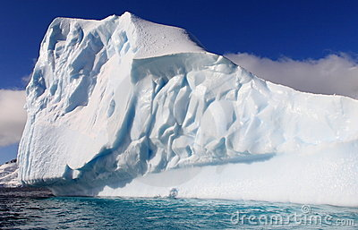 Huge Iceberg In Antarctica Stock Image - Image: 15073431