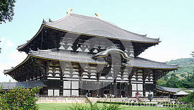 Really huge japanese temple