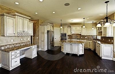 Huge new kitchen and dining room