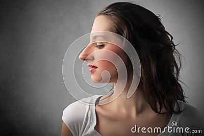 Huge nose