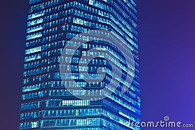 Huge office building