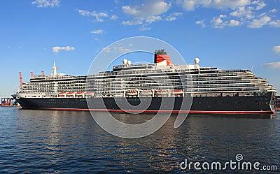 Huge passenger liner