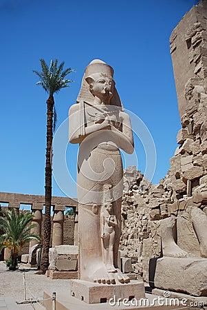 Huge statue in egypt