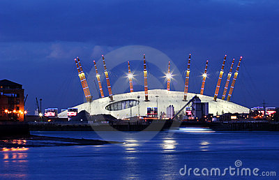 Huge tent in London