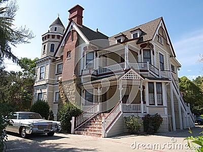 Huge Victorian house