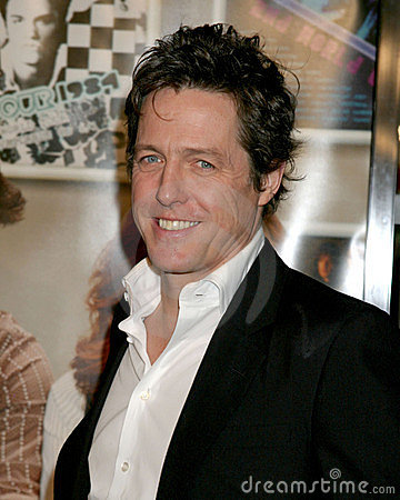 Hugh Grant Fotografia Editoriale