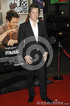 Hugh Grant Editorial Stock Photo