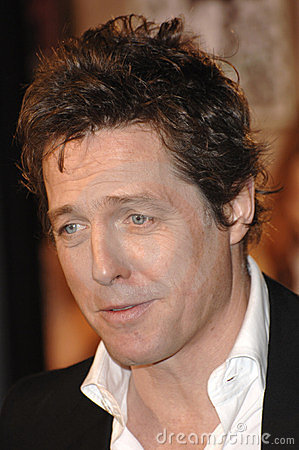 Hugh Grant Editorial Image