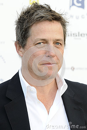 Hugh Grant Redactionele Stock Foto