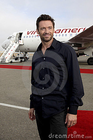 Hugh Jackman Editorial Stock Photo