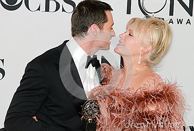Hugh Jackman and Deborra-Lee Furness Editorial Stock Photo