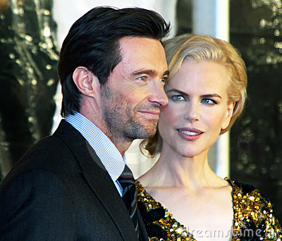 Hugh Jackman and Nicole Kidman Editorial Stock Photo