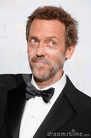 Hugh Laurie Editorial Stock Image