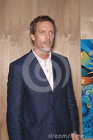Hugh Laurie Editorial Stock Photo