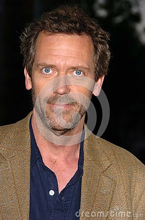Hugh Laurie Editorial Photo