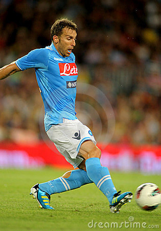 Hugo Campagnaro of SSC Napoli Editorial Image