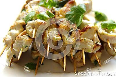 Huhn Kebabs