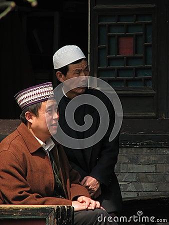 Hui Muslims of Xian China Editorial Image