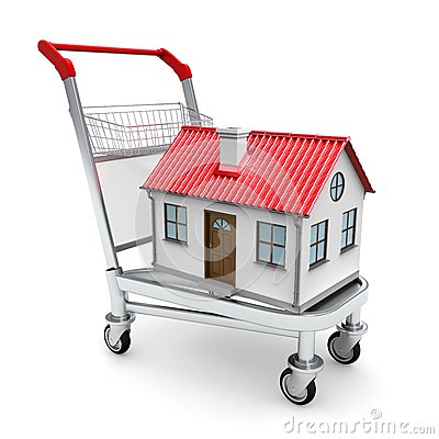 Huis op het karretje