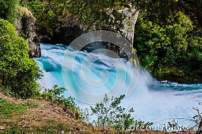 Huka falls, New Zealand, Waikato.