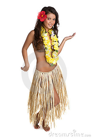Free Hula Dancer Stock Images - 14114354