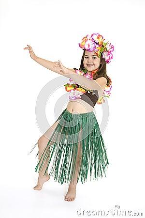 Free Hula Dancer Stock Photography - 2434912