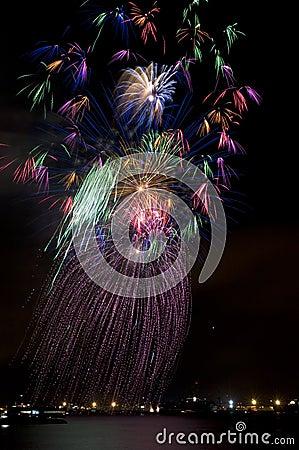 Hula Dancer Fireworks