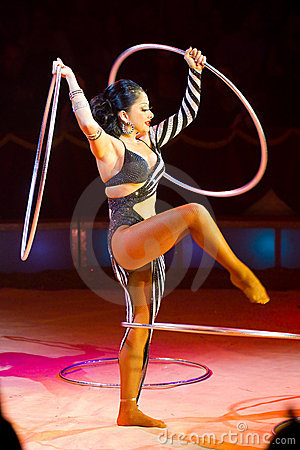 Hula hoop Editorial Photo