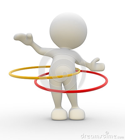 Free Hula Hoop Stock Images - 26343894